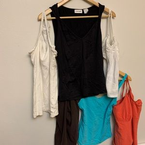 Tank top lot -6 (six) Women's small / junior large